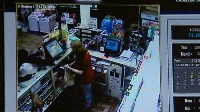 Daytona Beach Shores Police are hoping you can help them find the man who robbed a 7Eleven at gunpoint Tuesday night.