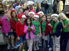 Girl Scout Troop 2166 is sharing their Christmas.
