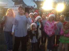 Keeth Elementary School students joined WESH Friday morning for Share Your Christmas.