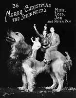 1936: The Steinmetz family Christmas card from 1936.