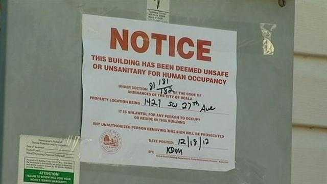 It may not be a merry Christmas for seven families in one Marion County apartment building.
