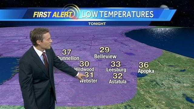 WESH 2 meteorologist Jason Brewer's central Florida forecast.