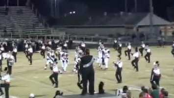14. High school players refuse to leave field for band - Parents of Spruce Creek band members were outraged after football players from the opposing team wouldn't leave the field for the band's pregame performance. (Read story)