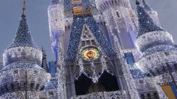 The Castle Dream Lights at the Magic Kingdom ends Jan. 8.