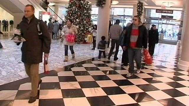 The day after Christmas may be the last day most people would shop, but some headed to the malls Wednesday to get deals, spend gift cards and make returns.