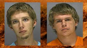 Spinning Wheels: A pair of accused robbery suspects learned the mushy way that a getaway car stuck in some mud makes police work pretty easy. Matthew Swaggerty, and Timothy Marrison found that out this year, according to officers.More here