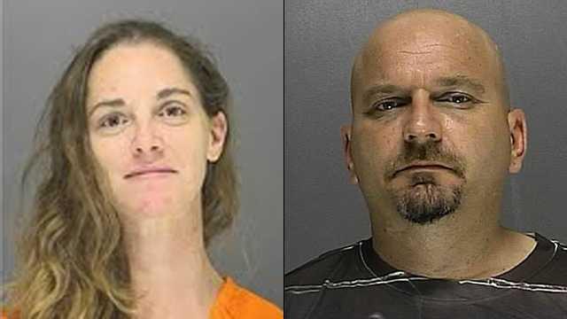 Heather Kinnaird and Thomas Clark