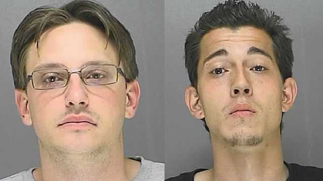 Daniel Arnold and Timothy Ringler are accused in a Deltona convenience store robbery.