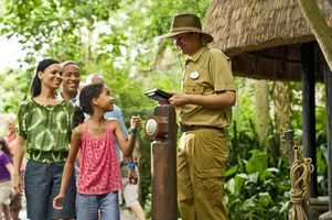 One tap of the MagicBand and Guests access their Disney FastPass+ attractions which can be secured before they even leave home.