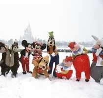 "Connie captioned this photo, ""HI HO HI HO it's time to shovel snow!!!"""