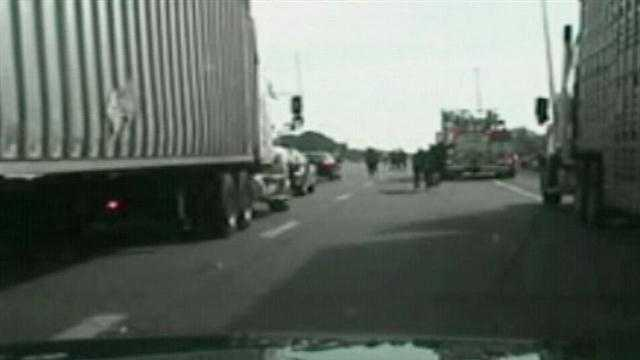 Bull tramples deputy on Florida highway