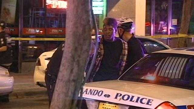 A 19-year-old is rushed to a hospital after a fight at Bar One.