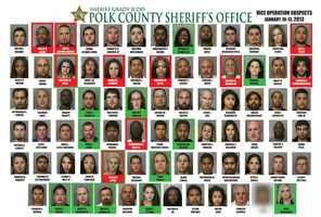 Polk County deputies arrested 78 people in a four-day prostitution investigation.