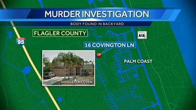 Woman makes gruesome discovery behind home