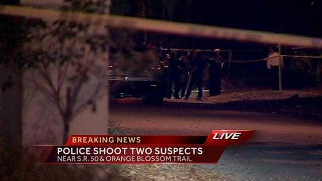 Orlando officer-involved shooting