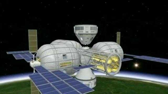 A new addition to the International Space Station promises more launch business for Central Florida, and a cheaper way to live in space.