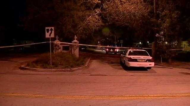 Two men are shot by Orlando Police Department officers.