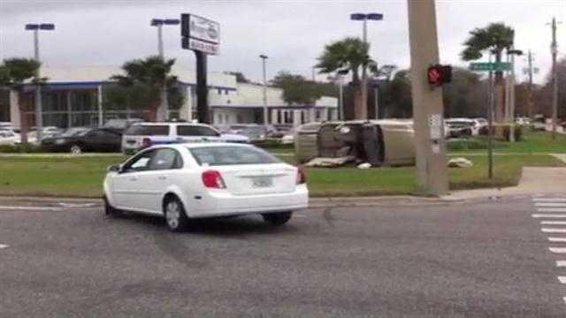 Raw Video: 1 dead in Volusia County crash