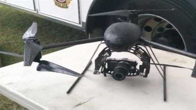 The Orange County Sheriff's Office showed off one of its new drones to the media Friday.