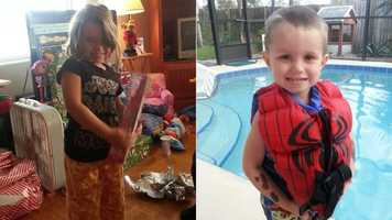 Dakota Leonard, 4, and Carson Tucker, 3, were found Tuesday afternoon after a search.