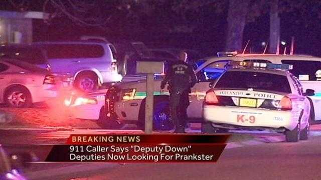Deputy Down 911 Hoax
