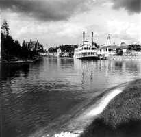 A steamboat at Disney in 1971.