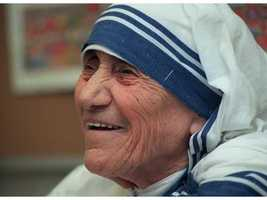 "If Meredith could interview anyone, dead or alive, it would be Mother Teresa. ""I was always so moved by her selflessness, and even though she is no longer with us, I think she would be such an inspirational interview."""