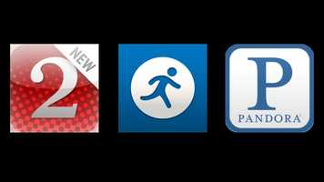 Meredith's favorite apps are the WESH 2 app, Map My Run and Pandora.