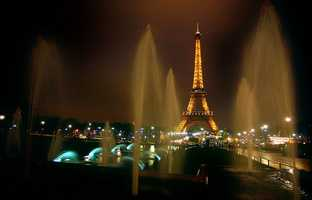 If she could go anywhere in the world, it would be Paris.