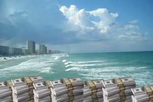2. Daytona Beach - residents and businesses have more than $3,853,460 in unclaimed funds