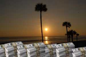 9. Ormond Beach - residents and businesses have more than $1,819,622 in unclaimed funds.