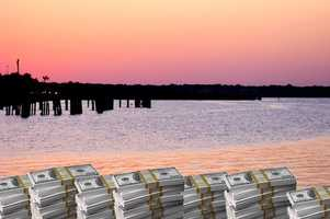 21. Sanford - residents and businesses have more than $1,144,662 in unclaimed funds.