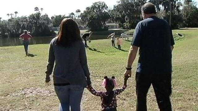 We have all heard the staggering costs associated with adopting a child -- $20,000 or $30,000. But that's not the case in Florida.