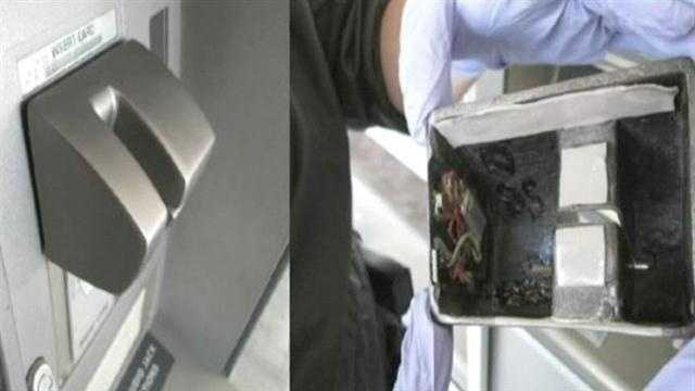 6 victimized after skimmers found on ATMs