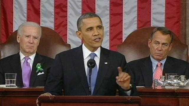 Florida played a key role in President Barack Obama's State of the Union address to the nation Tuesday night.