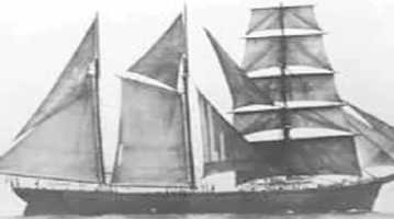 Georges Valentine was built in 1869 as a 767-ton iron-hulled ship. It was originally registered as Cape Clear until it was sold in 1889 and rechristened as Georges Valentine. The ship was primarily used to transport lumber from Pensacola to South America.