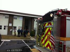Orange County Fire Rescue worked to contain an apartment fire Friday.
