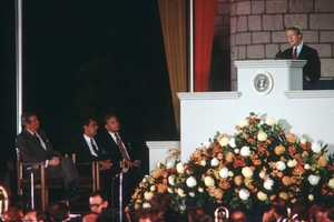 President Jimmy Carter became the first sitting president to visit Walt Disney World in 1978 when he opened the 26th World Congress of the International Chamber of Commerce meeting at Magic Kingdom