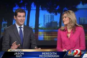 Jason wakes up at 2:30 a.m. on weekday mornings to be on TV for Sunrise.His weekends are about catching up on sleep and spending time with his family.