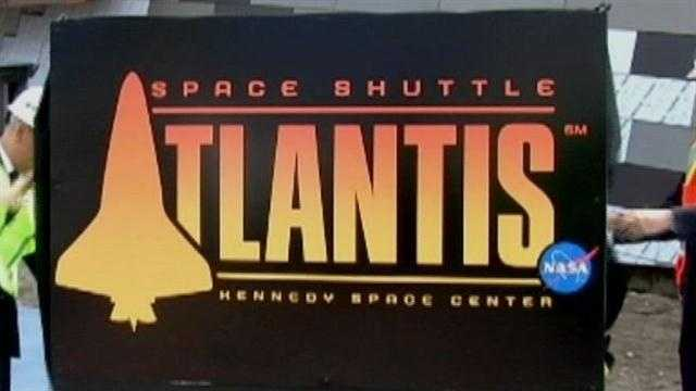 The new home for the Space Shuttle Atlantis is opening early.