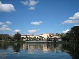 Rollins now has more than 1,700 undergraduate students on a 70-acre campus.