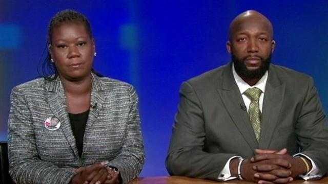 Trayvon Martin parents