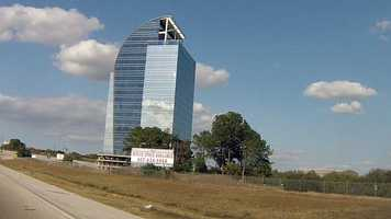 If you drive on I-4 through Altamonte Springs, you've seen this building. It has sat unfinished for more than a decade. See what it looks like inside!