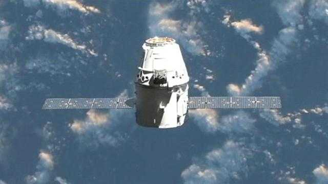 SpaceX officials say the Dragon capsule may face technical problems after its launch from Cape Canaveral on Friday morning.