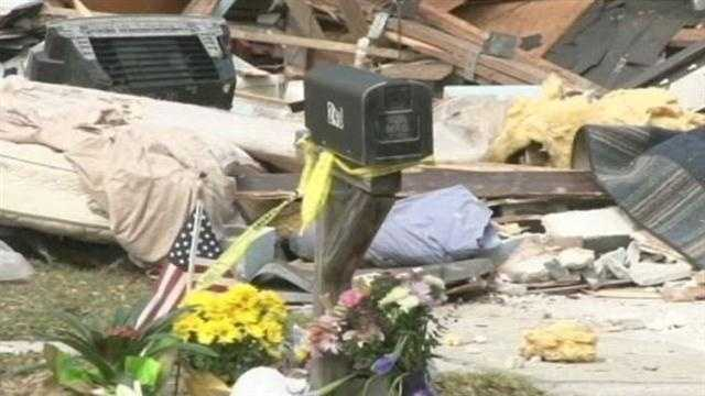Demolition continues at home where sinkhole swallowed man