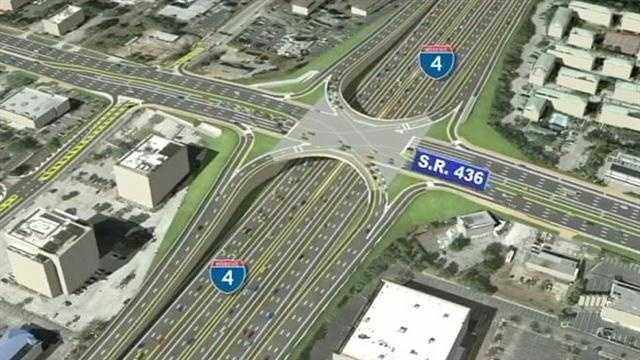 DOT presents proposal to ease I-4 congestion