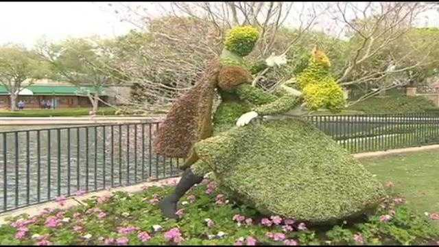 Behind the Scenes: Topiaries prepped for Flower and Garden festival