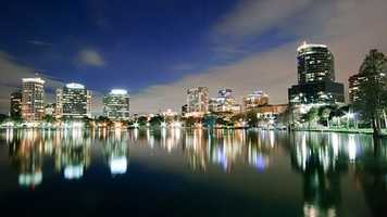 1. Orlando received an overall travel value index of 100, putting it at the top the heap for low price travel. Orlando topped the list in 2012 as well.