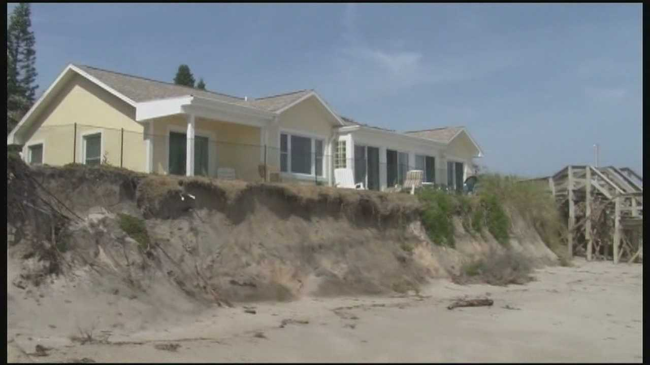 Homes, businesses in danger from beach erosion in Brevard County