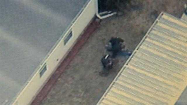Deputies take down man accused of tying teen neighbor